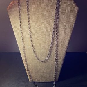 Touchstone Crystal Extra Long Chanelle Necklace